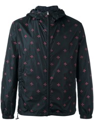 Gucci Bee And Star Print Jacket Blue