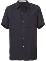 Individual Sentiments Chest Pocket Shirt Black