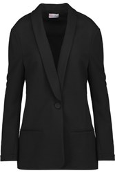 Red Valentino Redvalentino Stretch Jersey Blazer Black