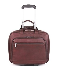 Kenneth Cole Reaction Colombian Leather Double Gusset Top Messenger Bag Brown