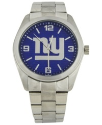 Game Time Men's New York Giants Elite Series Watch Blue
