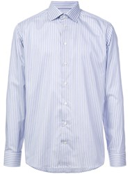 Eton Classic Striped Shirt Blue