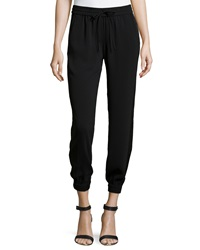 Laundry By Shelli Segal Pull On Pants With Tuxedo Stripe 4