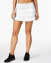 Ideology Tiered Skort Created For Macy's Bright White