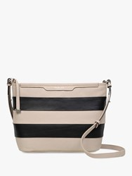 Radley Patcham Palace Medium Stripe Cross Body Bag Dove Grey