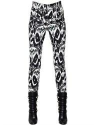 Isabel Marant Printed Stretch Cotton Denim Pants