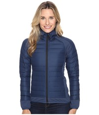 Adidas Hybrid Down Hooded Jacket Mineral Blue Women's Coat