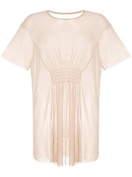 Alice Mccall Spell Sheer T Shirt Neutrals