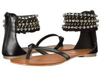 Report Gentry Black Synthetic Women's Sandals