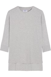 Frame Le Boxy Cotton Light Gray