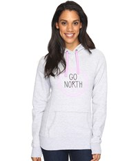 The North Face Avalon Compass Pullover Hoodie Tnf Light Grey Heather Women's Sweatshirt Gray