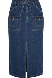 Madewell Denim Skirt Mid Denim