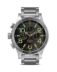 Nixon The 48 20 Chrono Watch 48Mm Dark Copper Stainless Steel