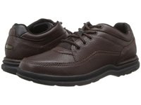 Rockport World Tour Classic Brown Tumbled Leather Men's Lace Up Casual Shoes