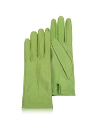 Forzieri Women's Mint Unlined Italian Leather Gloves