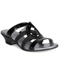 Karen Scott Emmee Slide Sandals Only At Macy's Women's Shoes Black