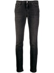 Dolce And Gabbana Low Rise Jeans Black