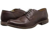 Frye Phillip Oxford Dark Brown Vintage Leather Men's Lace Up Casual Shoes