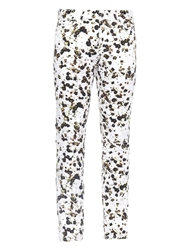 Givenchy Floral Print Skinny Fit Jeans
