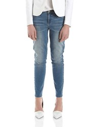 424 Fifth Petite Light Washed Jeans Light Indigo