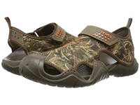 Crocs Swiftwater Realtree Max 5 Sandal Chocolate Chocolate Men's Sandals Brown