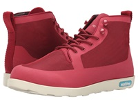 Native Fitzroy Fire Truck Red Bone White Lace Up Boots Pink