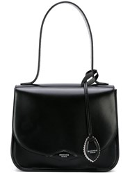 Rochas Structured Tote Bag Black