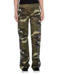 Odi Et Amo Trousers Casual Trousers Women Military Green
