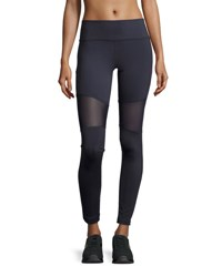 Varley Sycamore Mesh Panel Compression Running Tights Multi Pattern