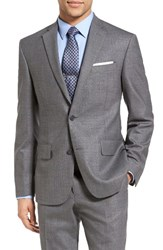 Nordstrom Men's Men's Shop Classic Fit Wool Blazer Mid Grey