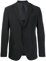 Theory Single Breasted Blazer Black