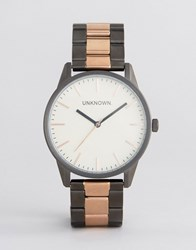 Unknown Classic Bracelet Watch In Rose Gold Rose Gold