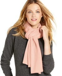 Charter Club Jersey Knit Cashmere Muffler Only At Macy's Whipped Berry