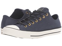 Converse Chuck Taylor All Star Leather Corduroy Lo Obsidian Egret Black Athletic Shoes
