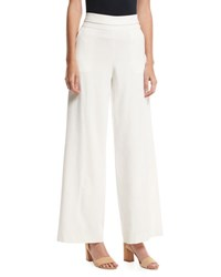 Frame Collection Wide Leg Tux Pants Off White