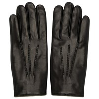 Dolce And Gabbana Black Cashmere Lined Gloves