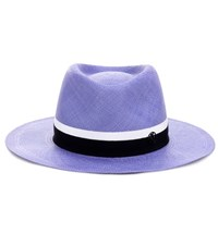 Maison Michel Thadee Hat Blue