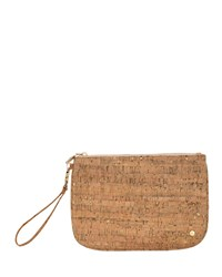 Stephanie Johnson Madeira Cork Large Flat Wristlet