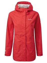 Craghoppers Madigan Classic Waterproof Jacket Red