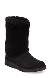 Uggr Women's Ugg Ariella Luxe Diamond Genuine Shearling Boot