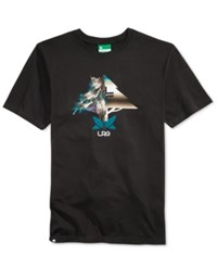 Lrg Men's Lit As A Feather Logo T Shirt Black