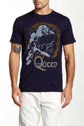 Bravado Queen News Of The World Vintage Graphic Tee Blue