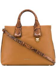 Michael Kors Collection Rollins Tote Bag Brown