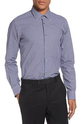 Pal Zileri Men's Gingham Check Sport Shirt