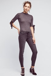 Anthropologie Mcguire Shore Leave Mid Rise Legging Jeans Black