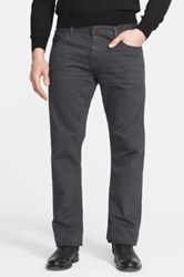 Ralph Lauren Black Label Straight Leg Jeans Gray