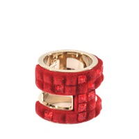 Atelier Swarovski Velvet Large Rock Ring By Viktor And Rolf