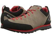Scarpa Crux Camel Poppy Red Shoes Brown