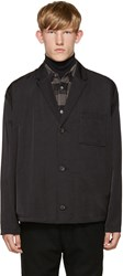 Robert Geller Black Sean Blazer