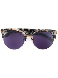 Pared Eyewear Cookies And Cream Sunglasses Women Plastic One Size Brown